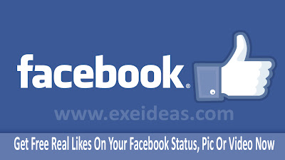 Get Free Likes On Your Facebook Status Or Pic Now